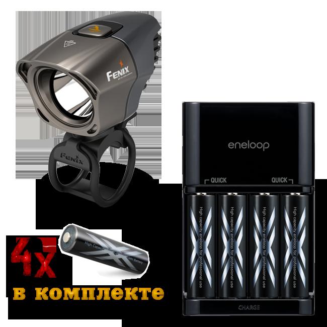Fenix BT10 + Зарядное устройство Sanyo