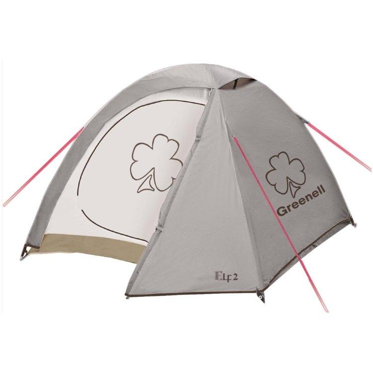 Палатка Greenell Эльф 3 V3, коричневая (95510-230-00)