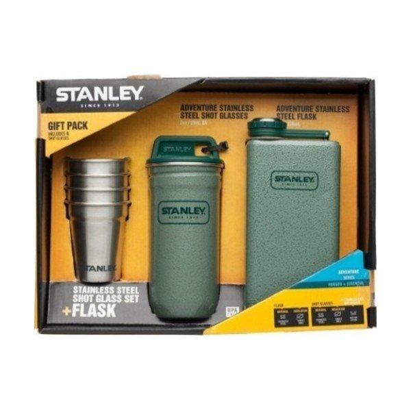 Набор Stanley Adventure стопки (0.59 мл) + фляга 0.23 л