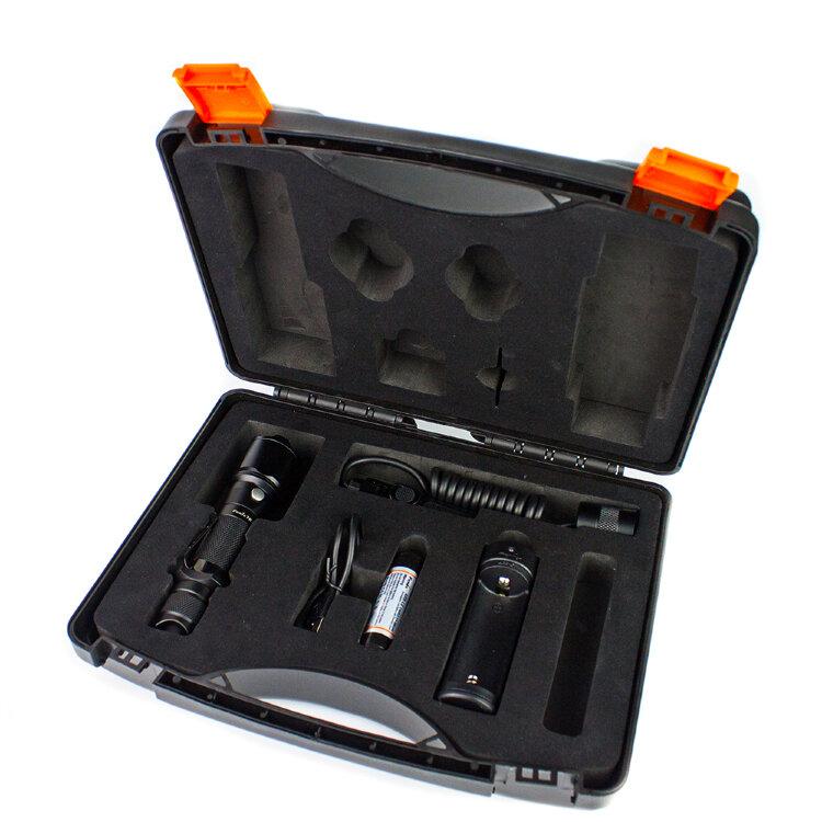 Набор: тактический фонарь Fenix TK15C + ARB-L2-2600 + ARE-X1+ AER-02