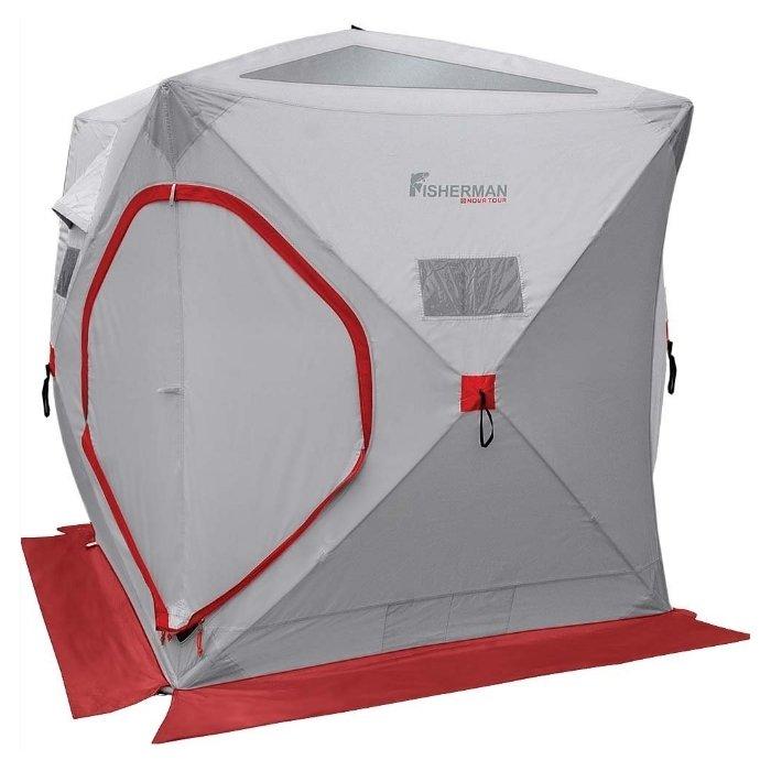Палатка Nova Tour для зимней рыбалки Куб Серый (95325-906-00)