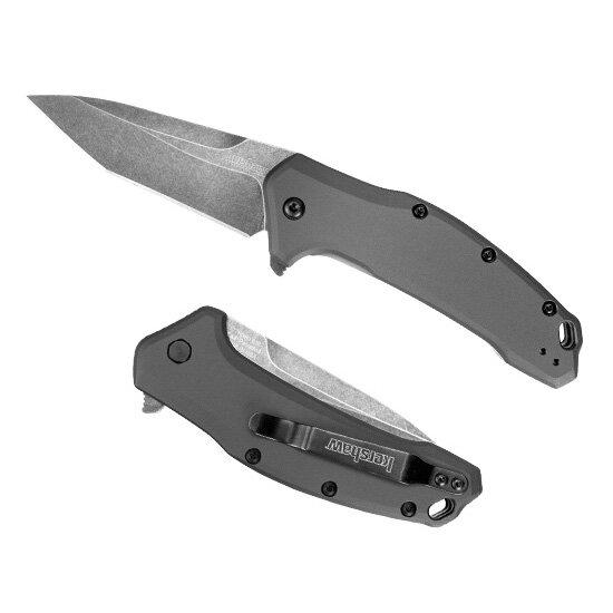 Складной нож Kershaw Link Gray Tanto, K1776TGRYBW