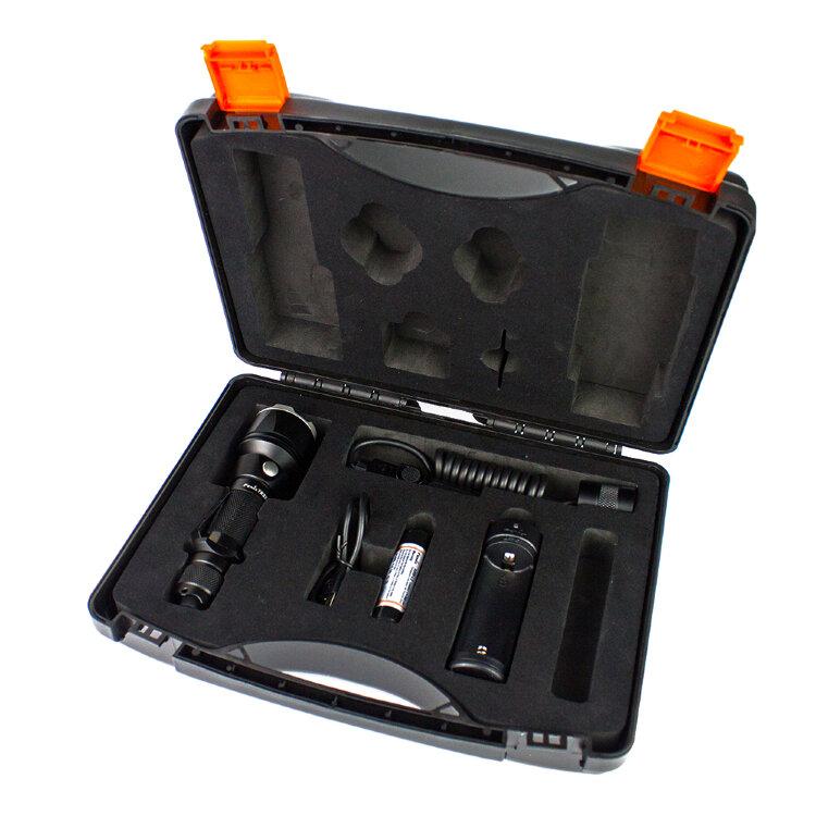 Набор: тактический фонарь Fenix TK22 XM-L2 U2 new + ARB-L2-2600 + ARE-X1 + AER-02