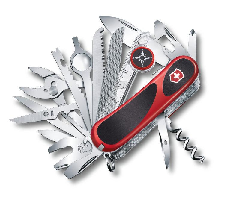 Нож перочинный Victorinox EvoGrip S54, 2.5393.SC