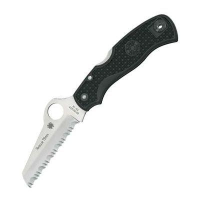 Складной нож Spyderco Rescue (черный, оранжевый)