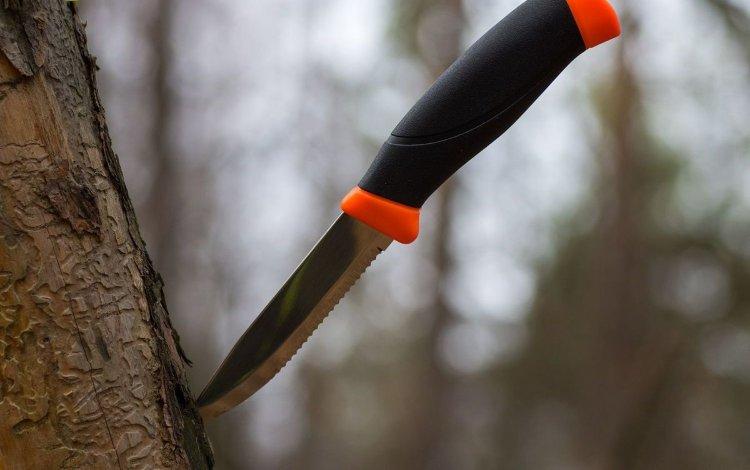 Нож Morakniv Companion F Serrated, нержавеющая сталь, 11829