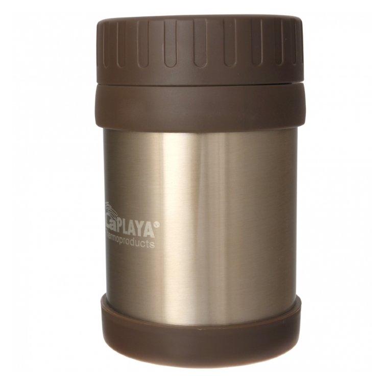 Термос LaPlaya Food Container, 0.35 л (красный, коричневый)