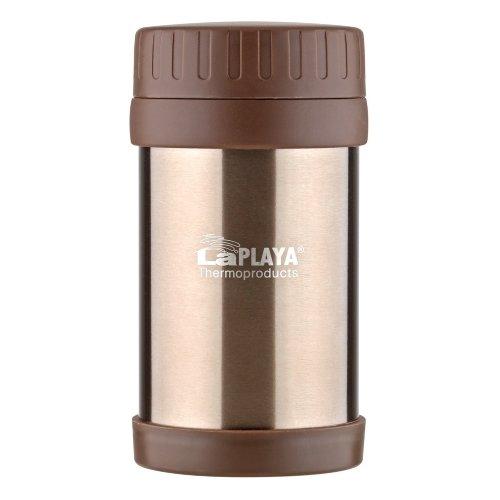 Термос LaPlaya Food Container, 0.5 л (красный, коричневый)