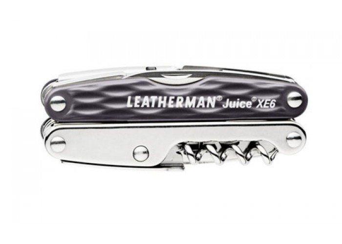 Мультитул Leatherman Juice Xe6, подарочная упаковка (серый, болотный)