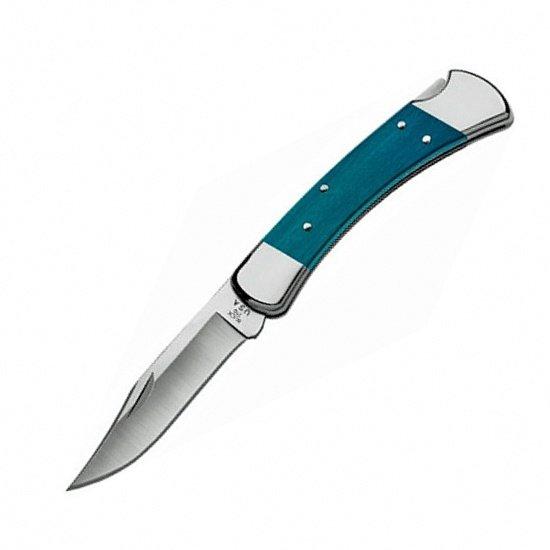Нож Buck Folding Hunter (cиний, оранжевый)