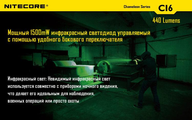Комплект для охоты Nitecore CI6 InfraRed Hunting Kit