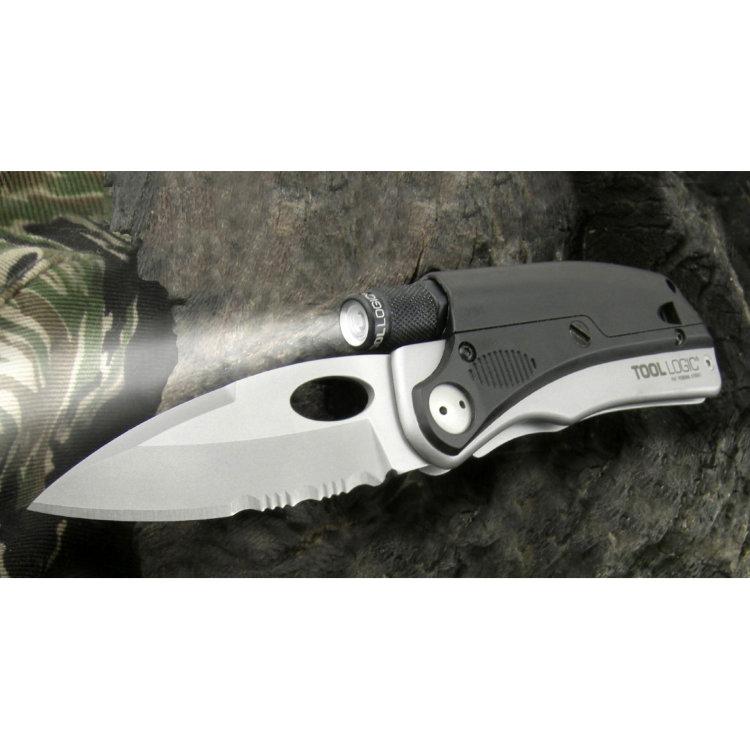 Складной нож SOG ProSilver Sharpener, TLSLP3