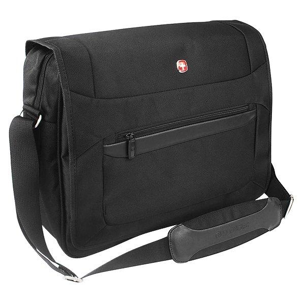 Сумка наплечная для ноутбука 15'' Wenger, черный, (73012292)