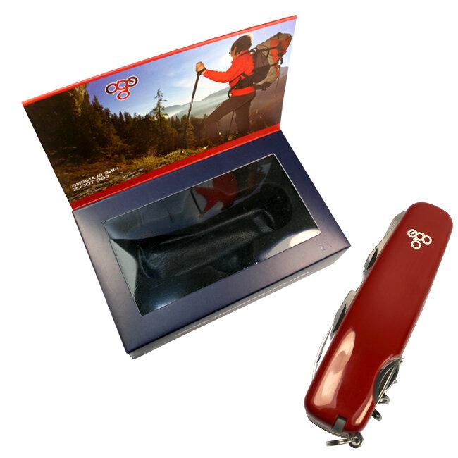 Нож Ego A01.11.2, красный