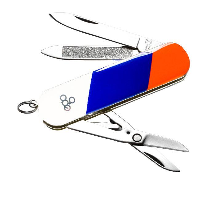 Нож Ego A03 брелок, триколор