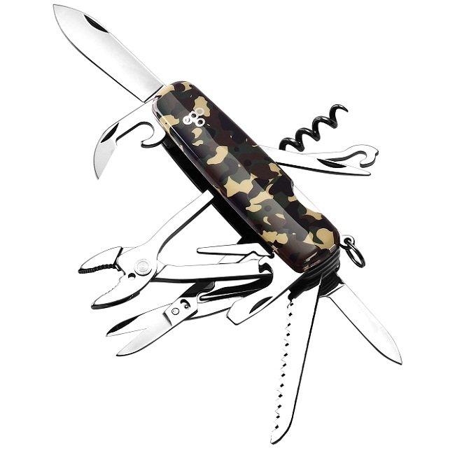 Нож Ego A01.12, камуфляж
