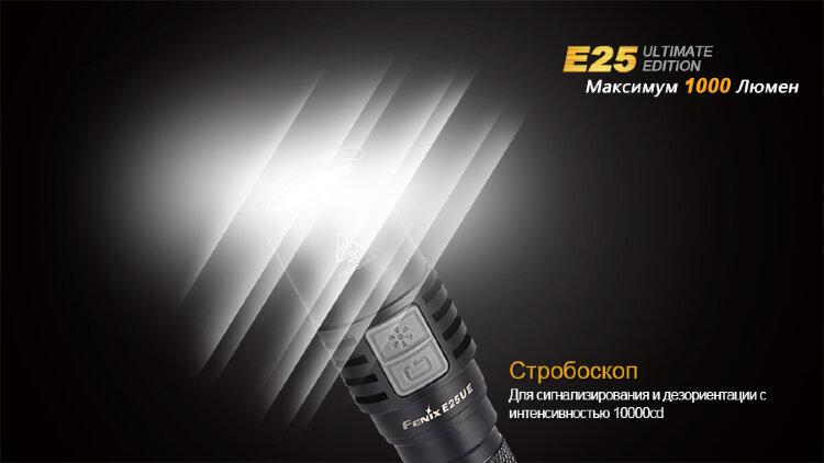 Фонарь Fenix E25UE Cree XP-L V5