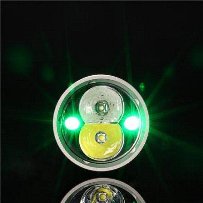 Фонарь Nitecore CG6 (белый + зеленый + RGB)