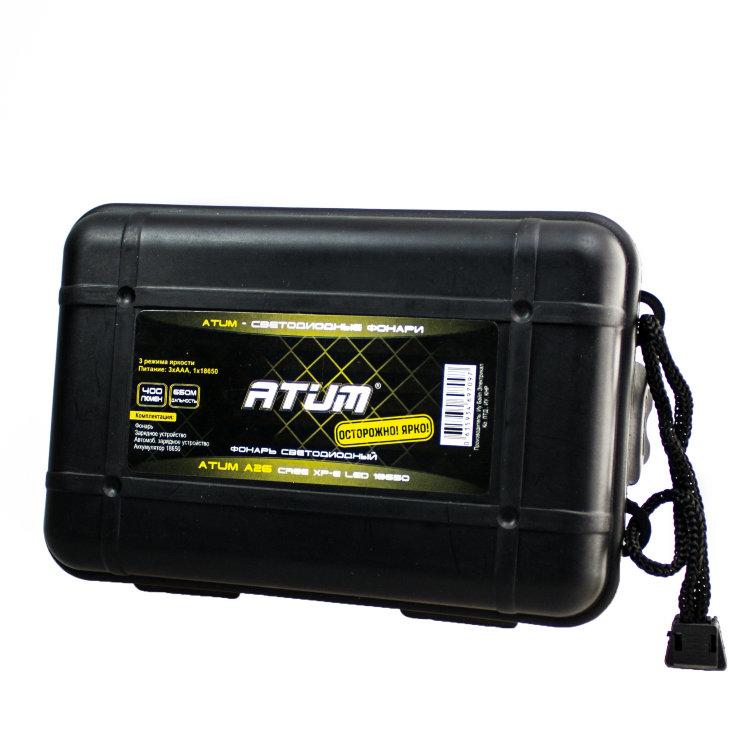 Atum A26 CREE XP-E Led 18650 поврежденная упаковка
