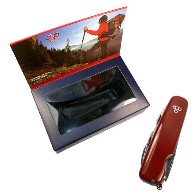 Нож Ego A01.8, красный