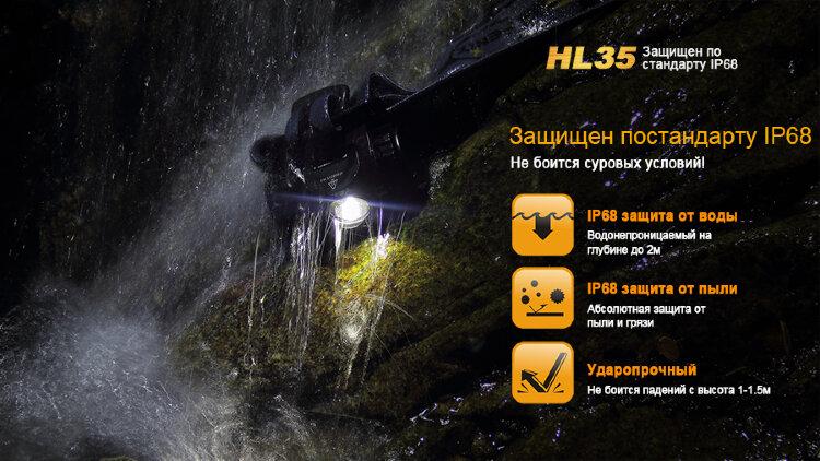 Fenix HL35 XP-G2 R5 вскрытый