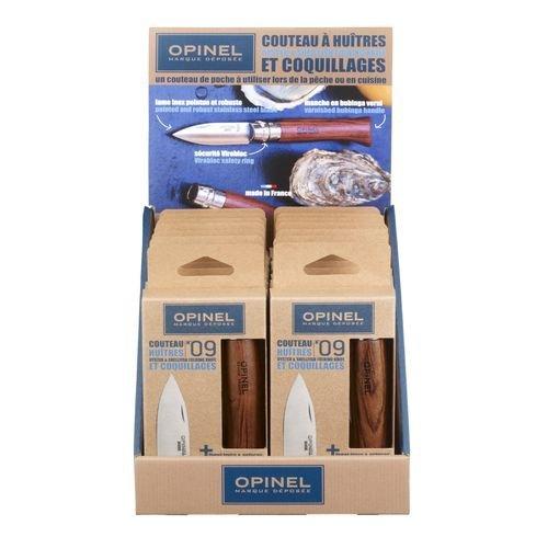 Набор ножей Opinel №9 для устриц, 14 шт