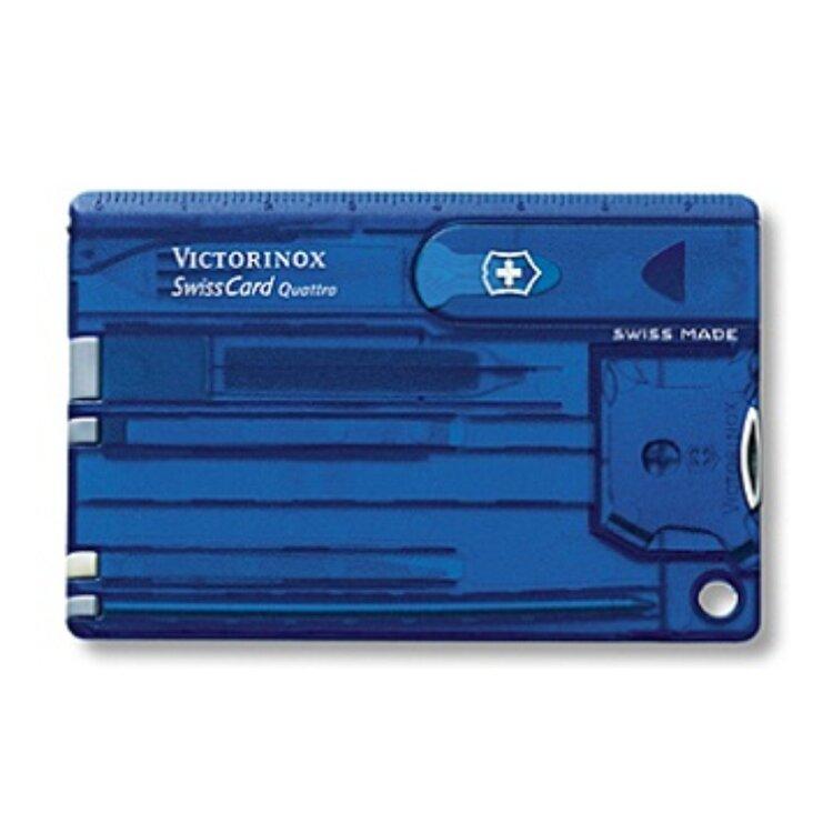 Набор Victorinox швейцарская карточка Quattro Sapphire 0.7222.T2