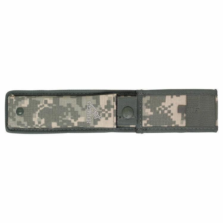 Нож Gerber Warrant Fixed Blade Tanto SE, нержав. сталь с оксидным покрытием вскрытый