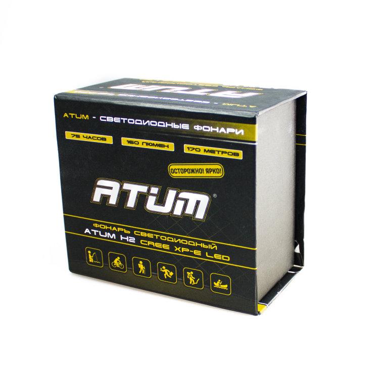 Налобный фонарь Atum H2 CREE XP-E Led