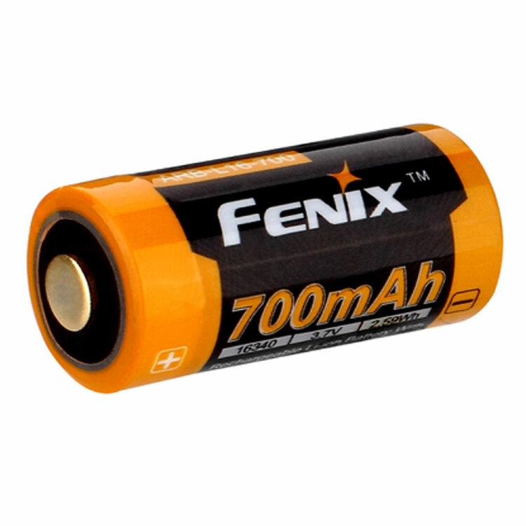 Аккумулятор 16340 Fenix 700 mAh Li-ion вскрытый