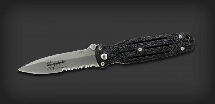 Нож Gerber Mini Covert, серрейторное лезвие, блистер вскрытый