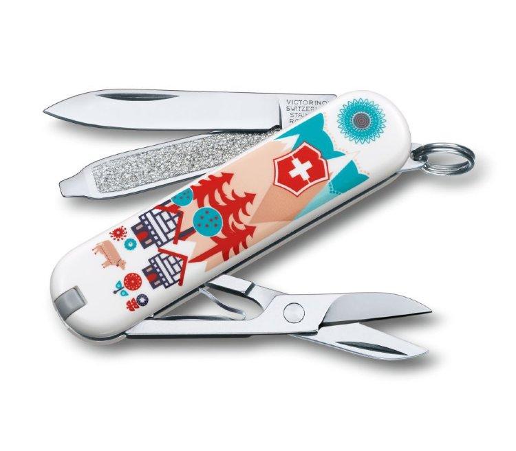 Нож-брелок Victorinox Swiss Village 0.6223.L1510