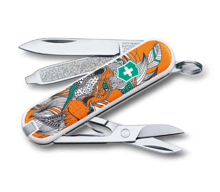 Нож-брелок Victorinox Lion King 0.6223.L1501