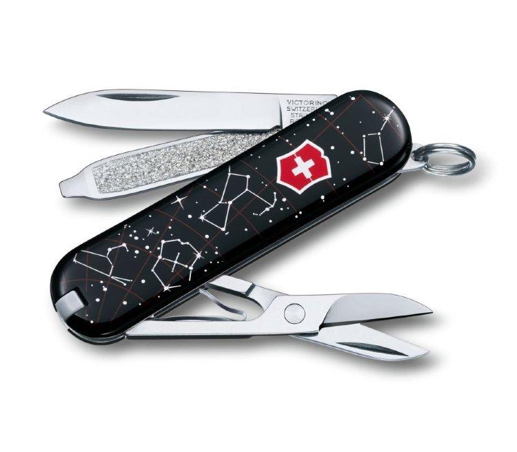 Нож-брелок Victorinox  Star Light StarBright 0.6223.L1503