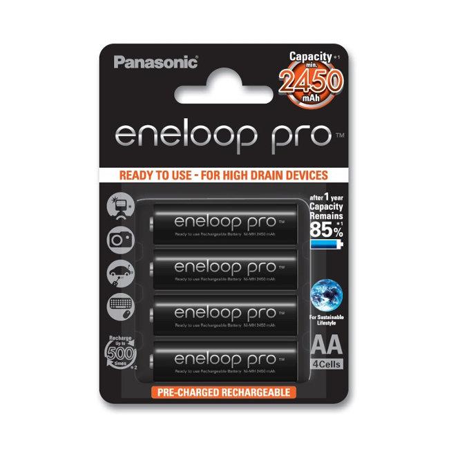 Аккумулятор Panasonic eneloop pro AA (AA 2450mAh)