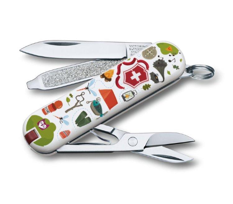 Нож-брелок Victorinox Nature Adventure 0.6223.L1505