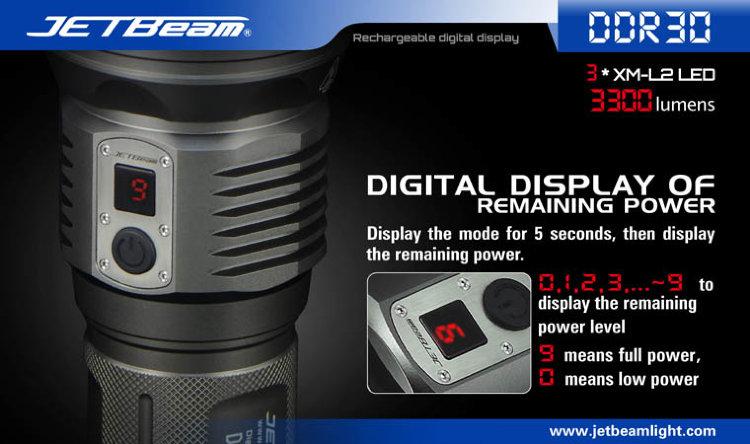 Фонарь JetBeam DDR30
