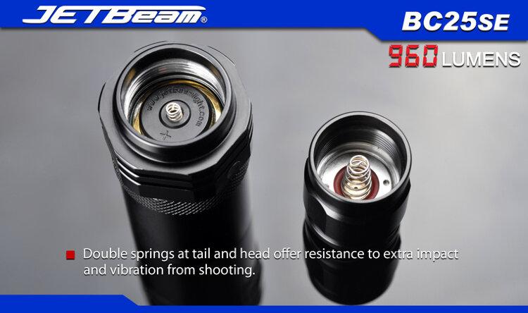 Фонарь JetBeam BC25SE