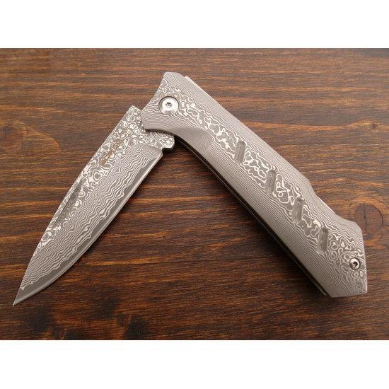 Складной нож Boker Damascus Dominator, BK01BO511DAM