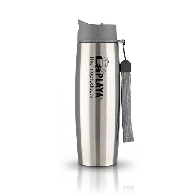 Термокружка LaPLAYA Thermo Mug SS Strap, 0.5 л (черная, белая, серебристая)