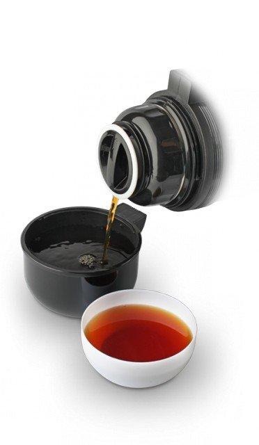 Термос LaPLAYA Traditional, 1.2 л (черный, красный)