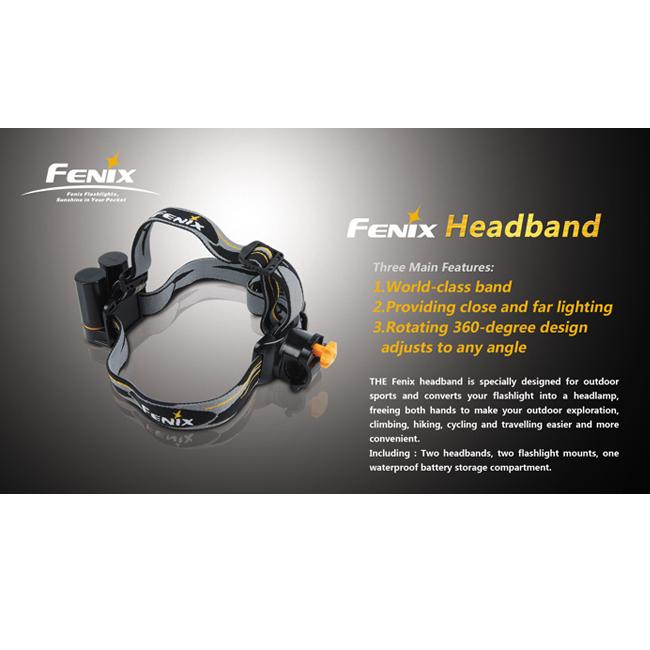 Крепление наголовное для фонарей Fenix