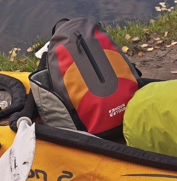Герморюкзак Nova Tour Черепаха 25 серый/оранжевый (95140-471-00)