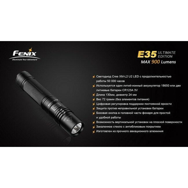 Fenix E35 UE вскрытый