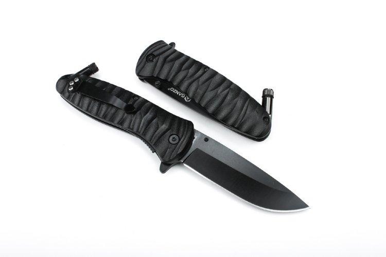 Нож Ganzo G622-FB-1, черный