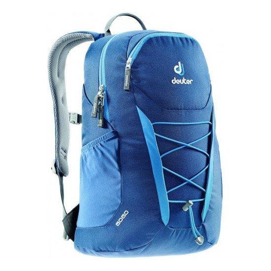 Рюкзак Deuter Go Go (серо-синяя клетка, синий, зеленый)