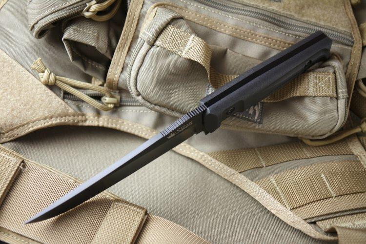 Нож Kizlyar Supreme Croc AUS-8 Black