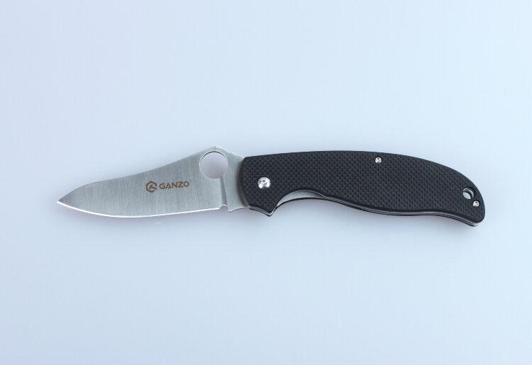 Нож Ganzo G734 (черный, зеленый, оранжевый, камуфляж)