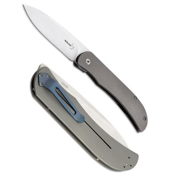 Складной нож Boker Plus Exskelibur 1 Titanium, BK01BO133