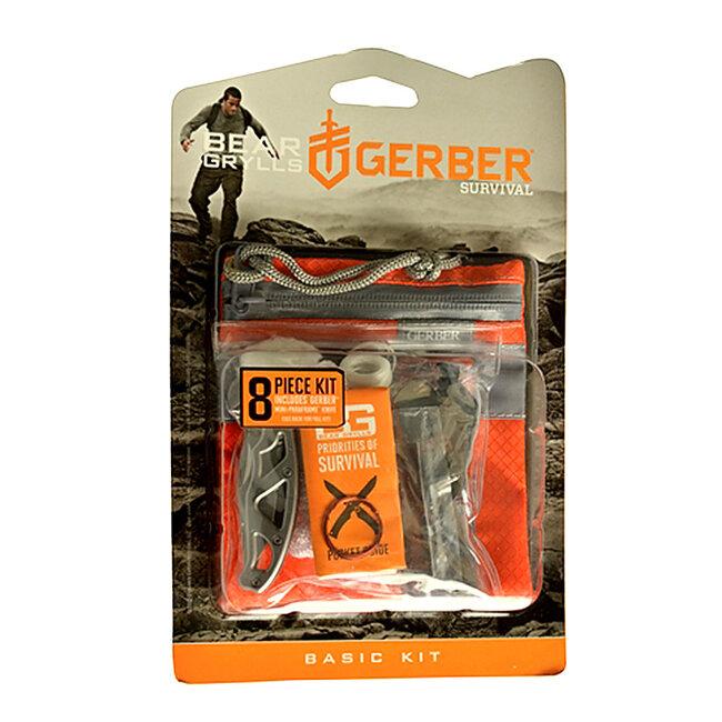 Набор для выживания Gerber Bear Grylls Basic Kit вскрытый